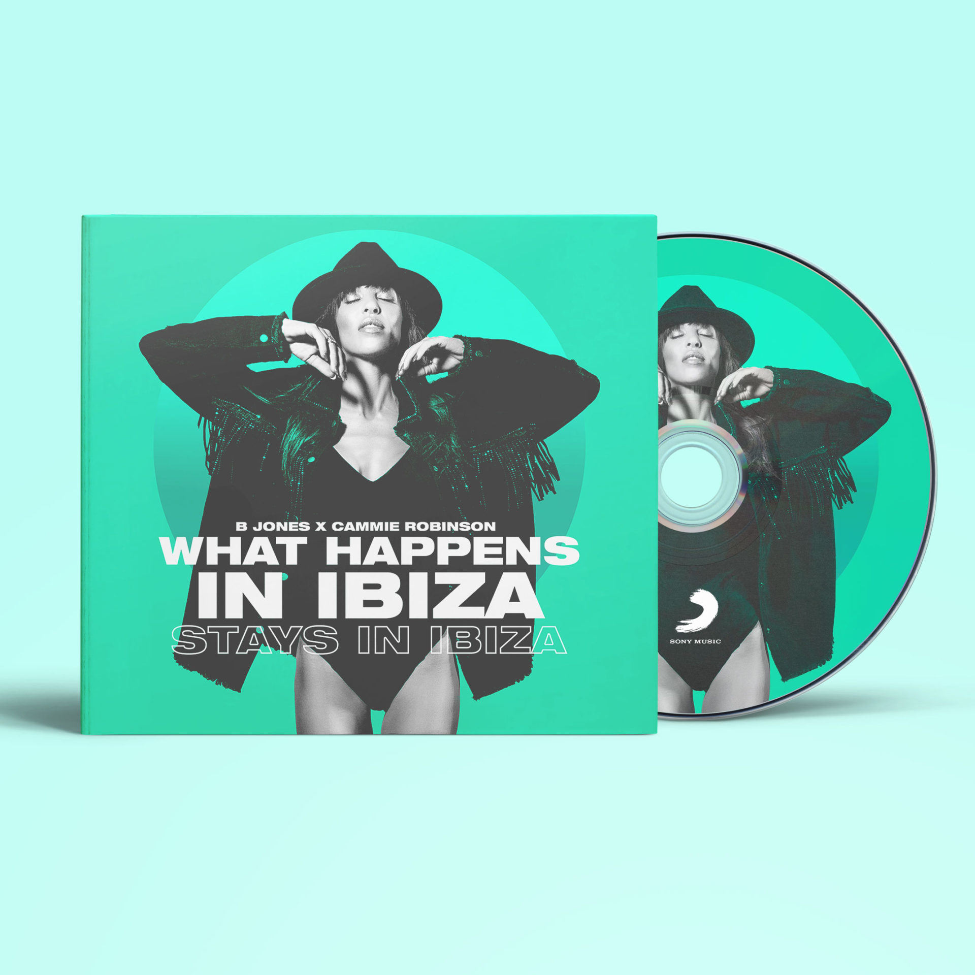 B Jones x Cammie Robinson – What Happens in Ibiza stays in Ibiza