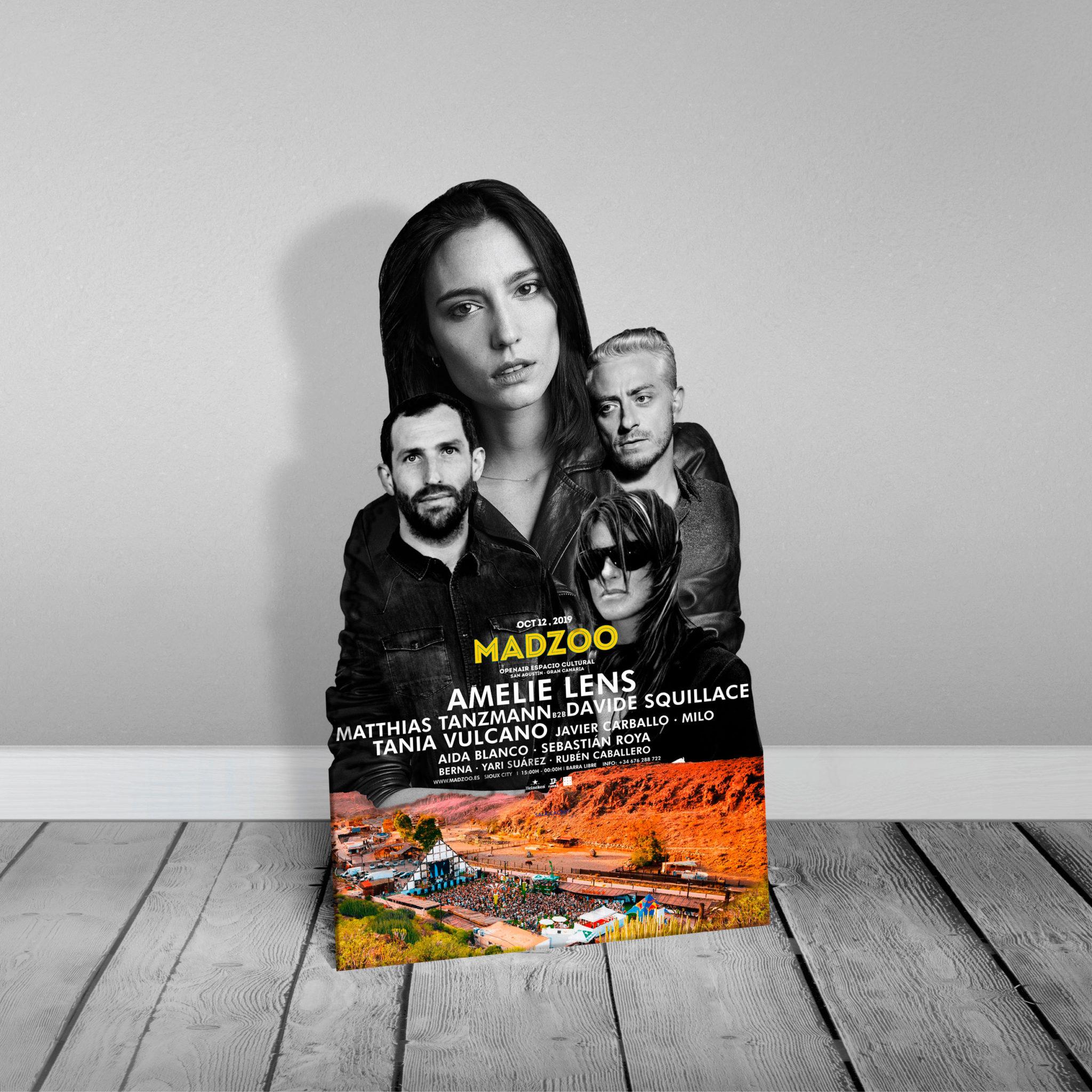 Madzoo Soporte Publicitario Amelie Lens